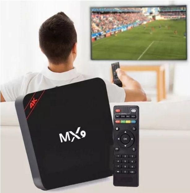 Aparelho Tv Box MX9 Android 7.1 8gb