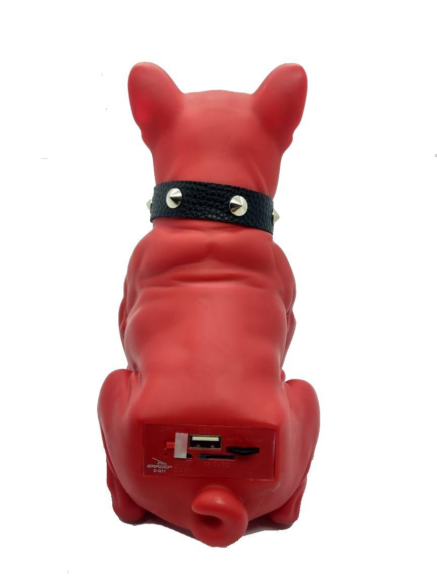 Caixinha Som Bluetooth, USB, AUX Bulldog Grasep D-Q11
