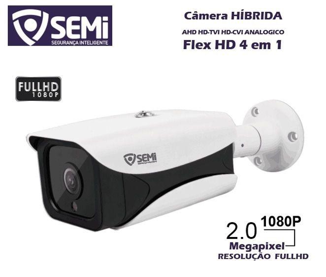 Câmera de Monitoramento Híbrida Flex HD 4 em 1 Infravermelho Semi SC-9200