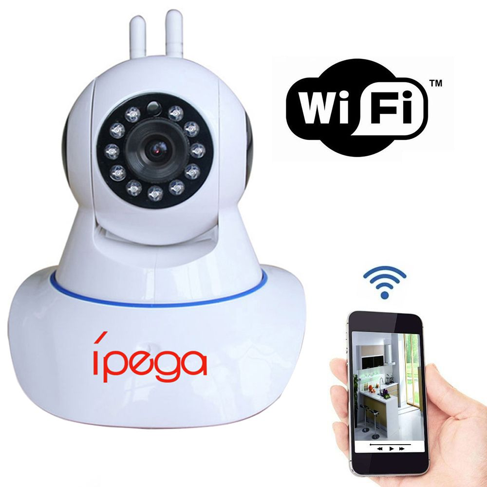 Câmera Ip Monitoramento Wifi 2 Antenas Ípega KP-CA110