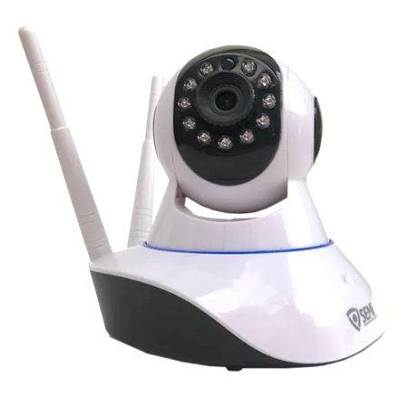 Câmera Ip Monitoramento Wifi 2 Antenas - Onvif Semi SC-B1