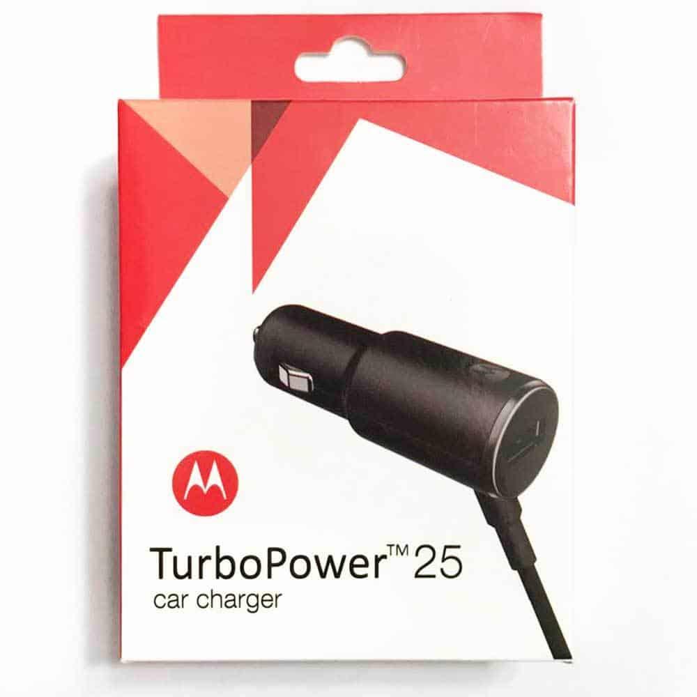 Carregador Turbo Power 25W Motorola Veicular