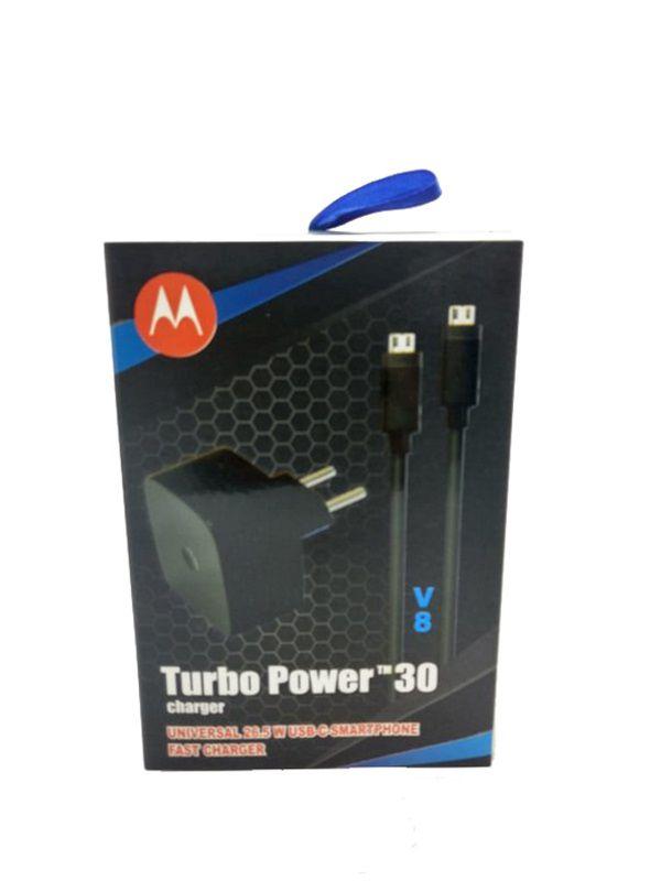 Carregador Turbo Power Charge Motorola V8