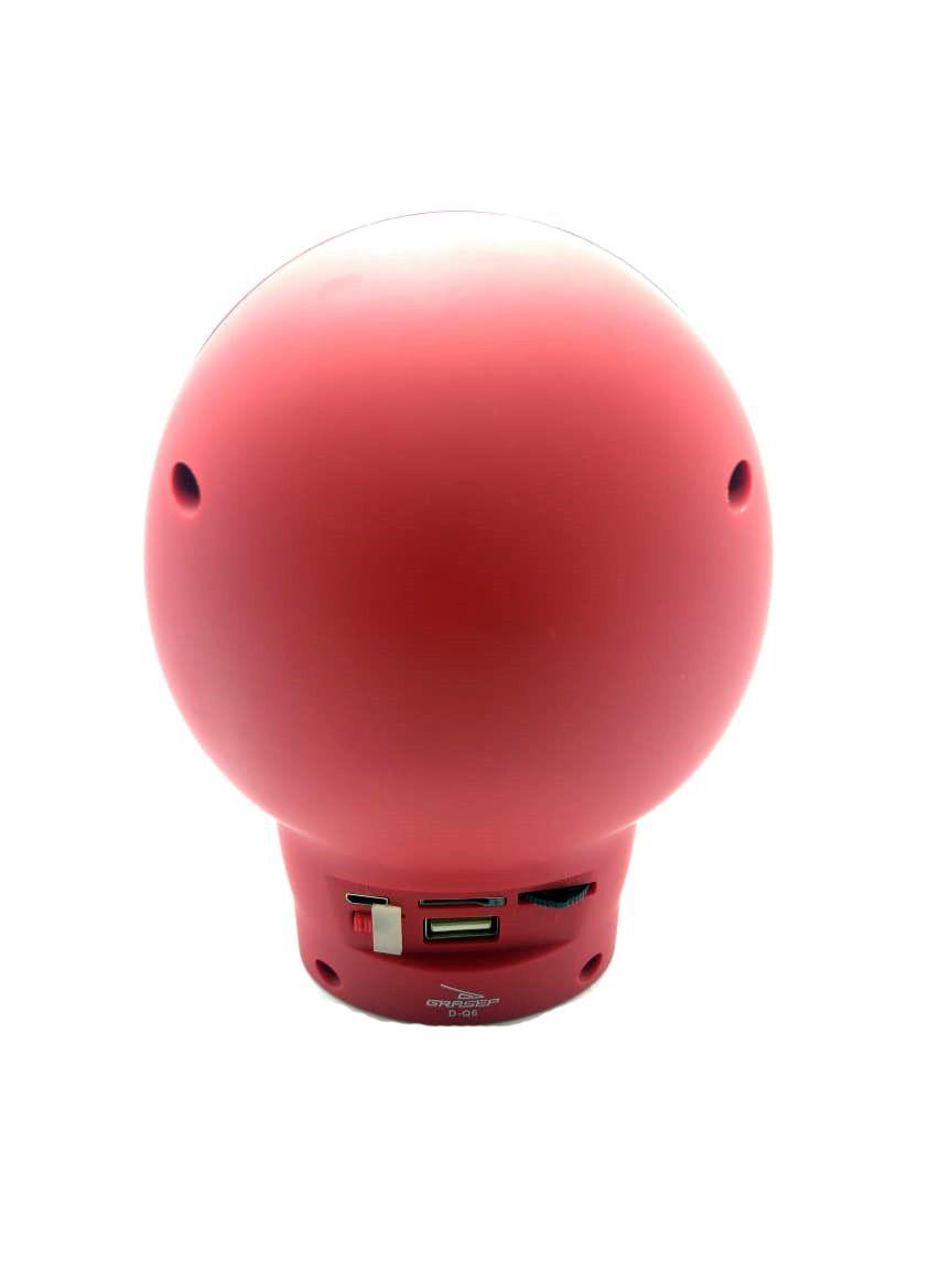 Caveira Caixa de som Bluetooth D-Q6 Grasep