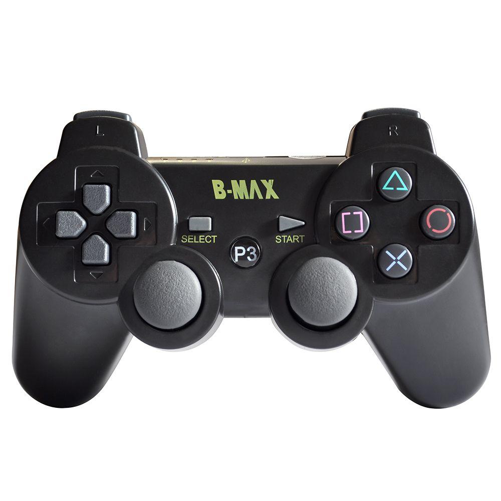 Controle PlayStation 3 Sem fio Dualshock B-Max