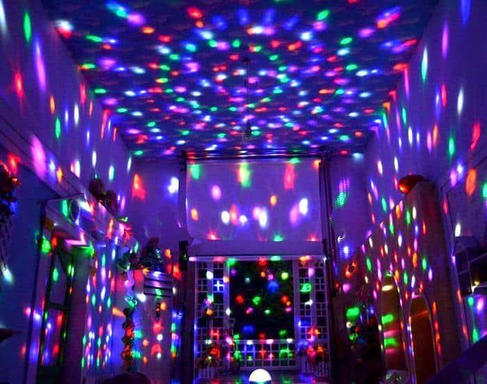 Globo de Luzes de Led USB Music Magic Light