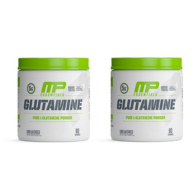 Glutaminas De 300g Cada Muscle Pharm