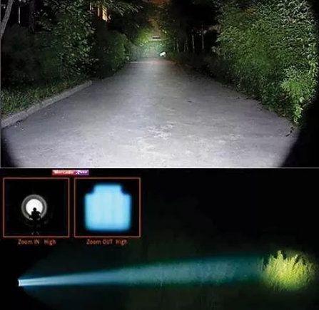 Lanterna Tática Recarregável X900 Ecooda