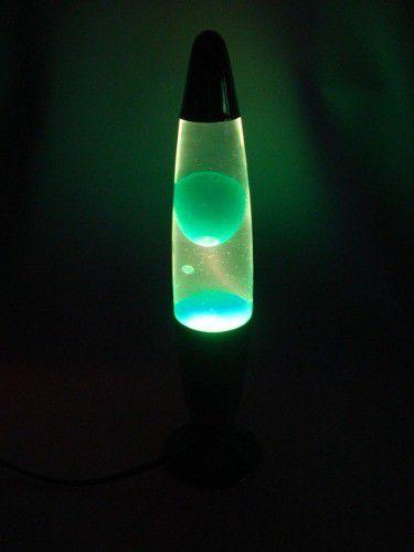 Luminária Abajur Lava com Bolhas 110V Wax Lamp M170348-3