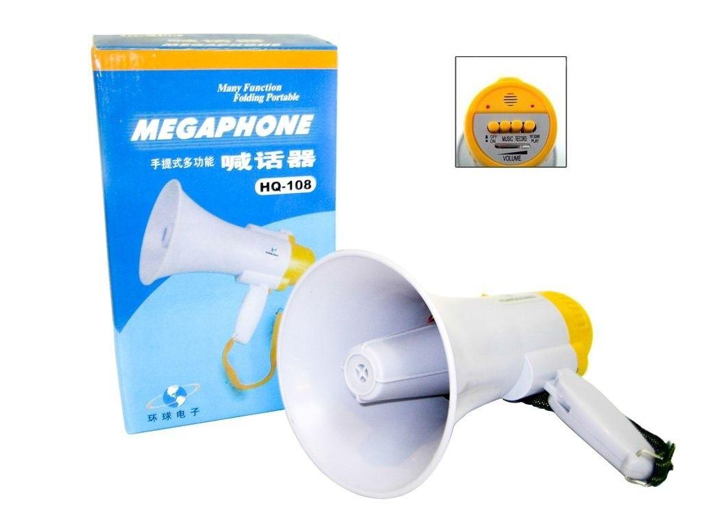 Megafone Portátil Recarregável Megaphone HQ-108