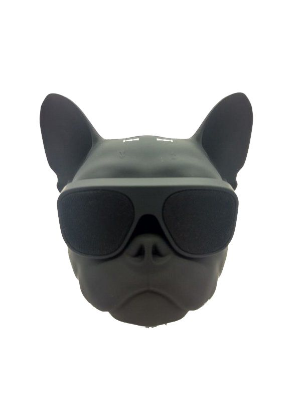 Mini Caixa Som Bulldog Frances Aerobull Bluetooth