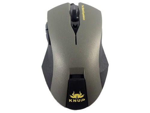 Mouse Gamer 6D Óptico Silent Knup  2400dpi