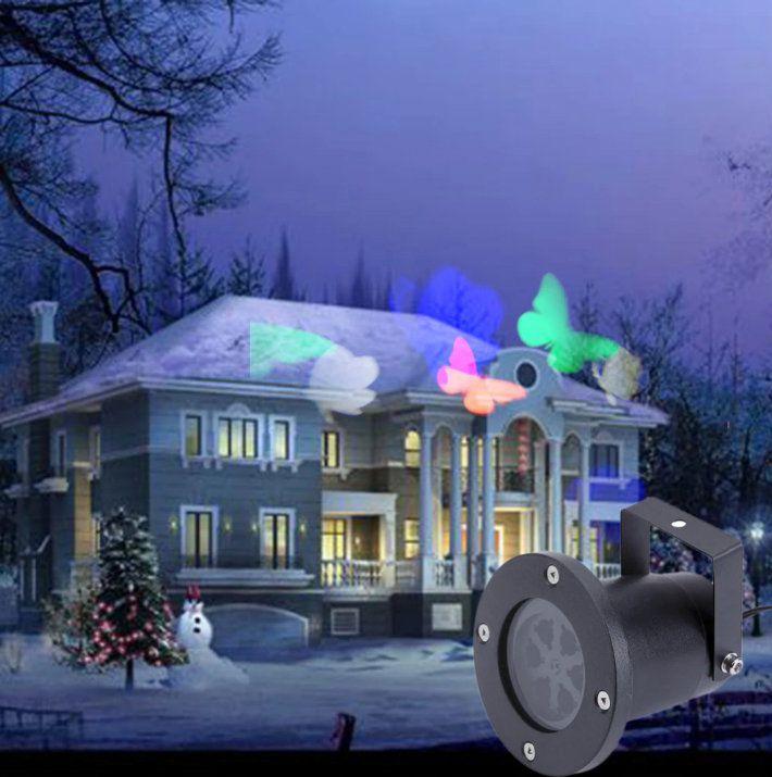 Projetor de Luzes de Led com Desenhos Natal