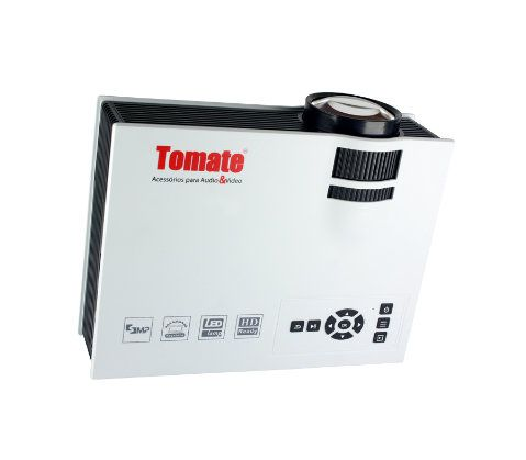 Projetor Home Cinema Portatil 800 Lumens - Tomate Mpr-7007