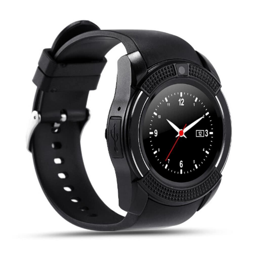 Relógio Smartwatch Bluetooth com Câmera V8