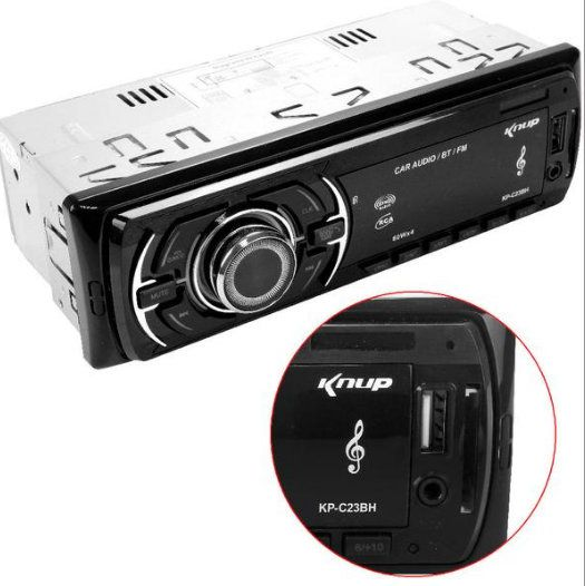 Som Automotivo Bluetooth 60W X 4 KP-C23BH KNUP