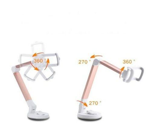 Suporte Universal Dobrável Ventosa para Celular H'maston CJ23