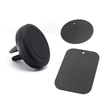 Suporte Veicular de Imã Fixação no Ar Condicionado - Exbom SP-A22