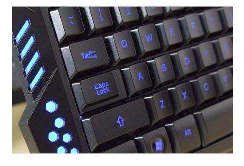 Teclado para Pc Gamer USB com Led Luminoso M200 Verde JP-03