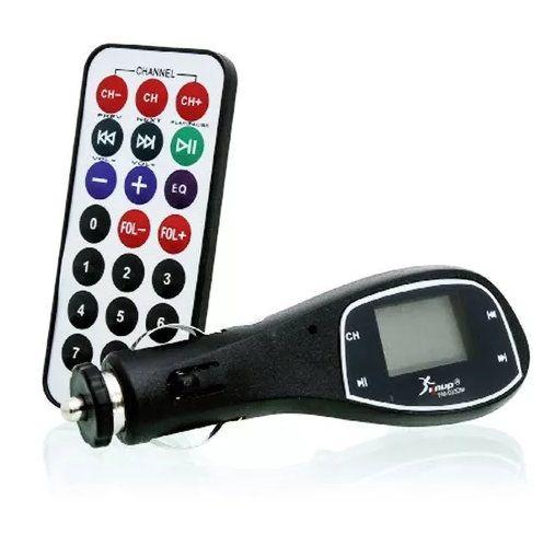 Transmissor Veicular 3x1 Knup FM-033