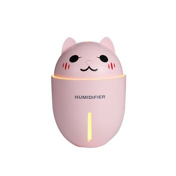 Umidificador com Mini Ventilador Pet 3 Em 1 Usb com Led Humidifier Y1