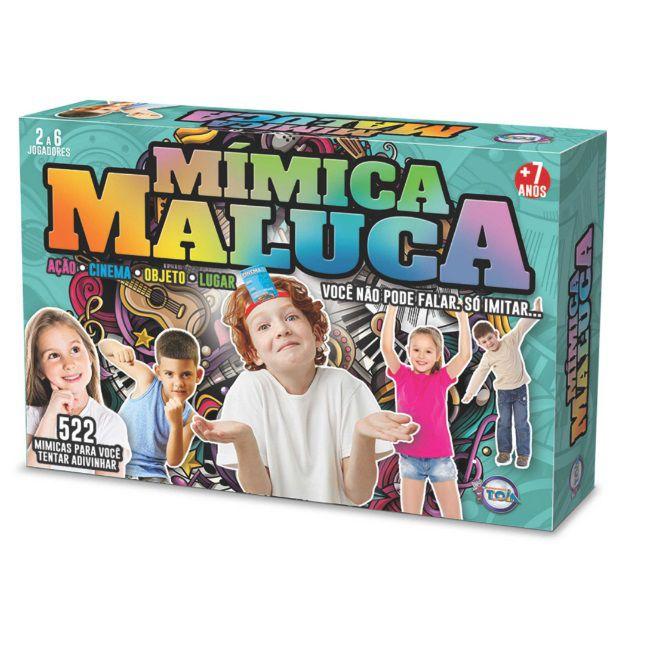Jogo Mímica Maluca - Toia