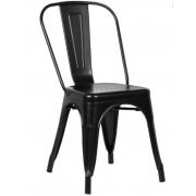 Cadeira Industial Preta Mor - Original