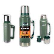 Garrafa Térmica Stanley Green 1 Litro - 24 Hr Quente Ou Frio