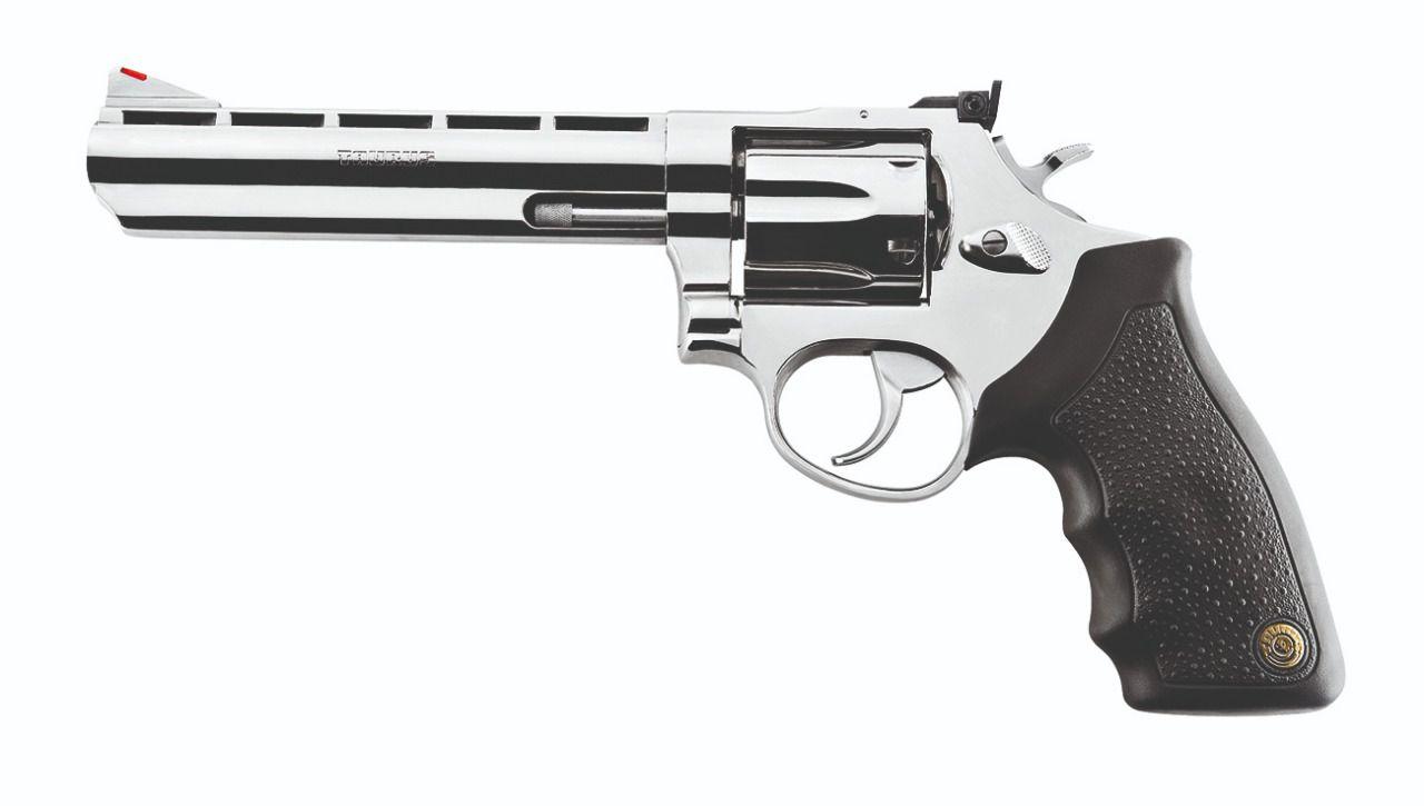 "Revólver Taurus 889 Cal. .38SPL Inox 6"" - 152mm"