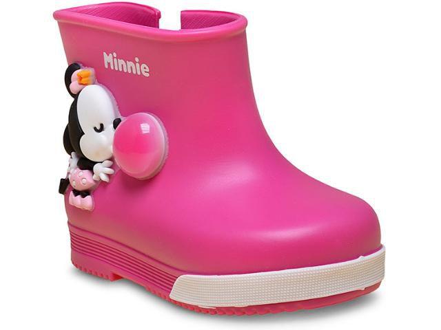 c7abc015f8b Bota Galochinha Infantil Grendene 21419 Mickey e Minni Bubble Baby ...