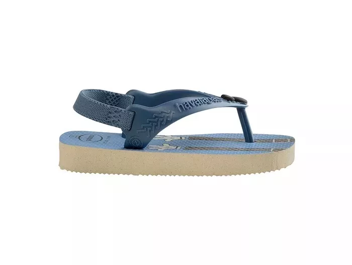 989d7e7fd3c Chinelo Infantil Baby Havaianas Mickey Bege Palha - Lojas Mendes