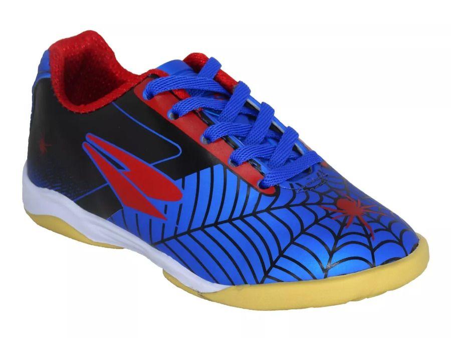 3dec89932a Tênis Chuteira Futsal Infantil Drayzinho Spider Ref 115 - Lojas Mendes
