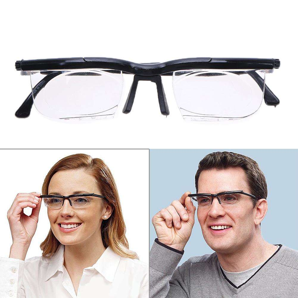 725e035970730 Óculos Para Perto Longe Leitura Ajustável Miopia Dioptria - RickShop ...