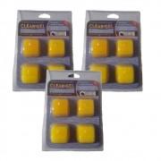 Clarificante filtração Piscinas Clear Gel  3 Cartelas- Maresias