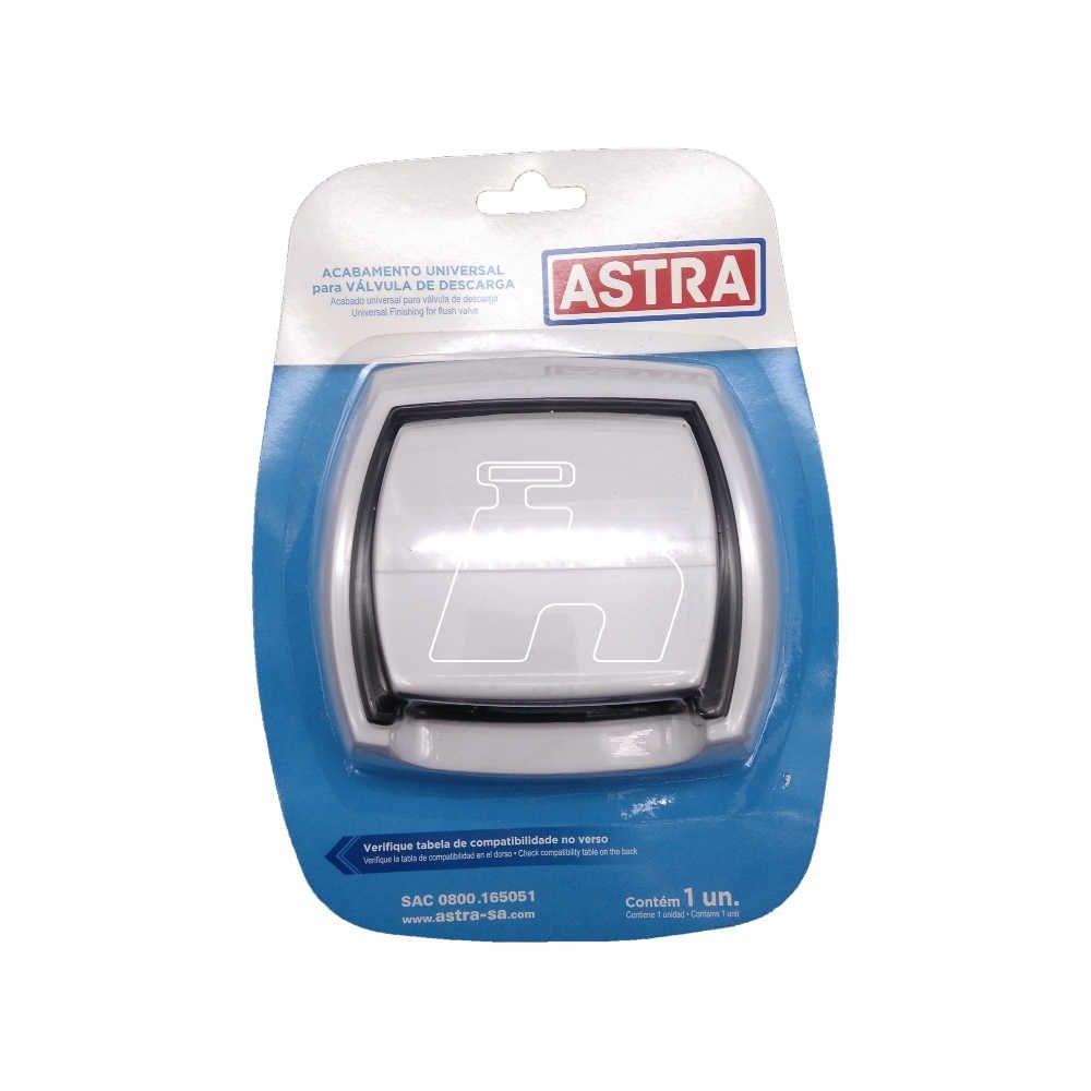 Acabamento Válvula Descarga  Astra Hydra Docol- Astra