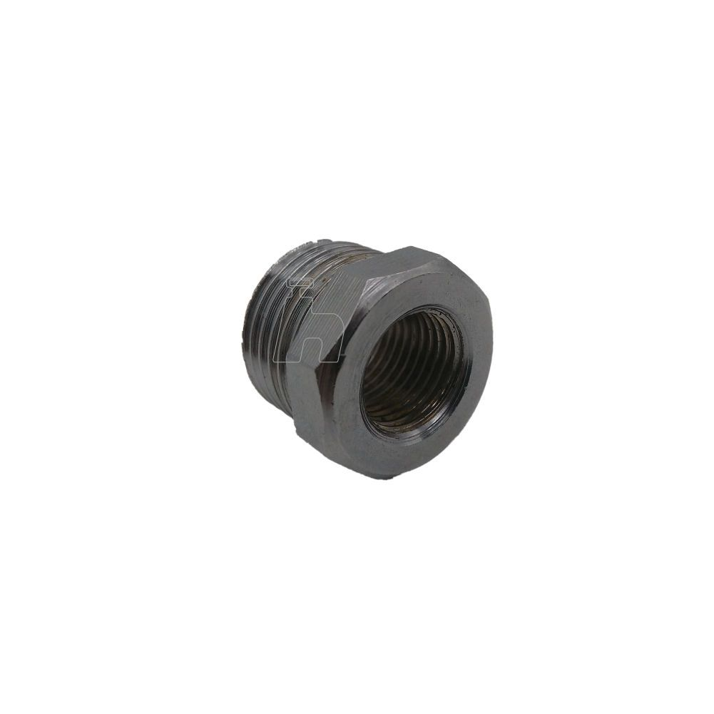 "Bucha redução filtro metal cromada 1/2"" X 1/4""-Ideal"