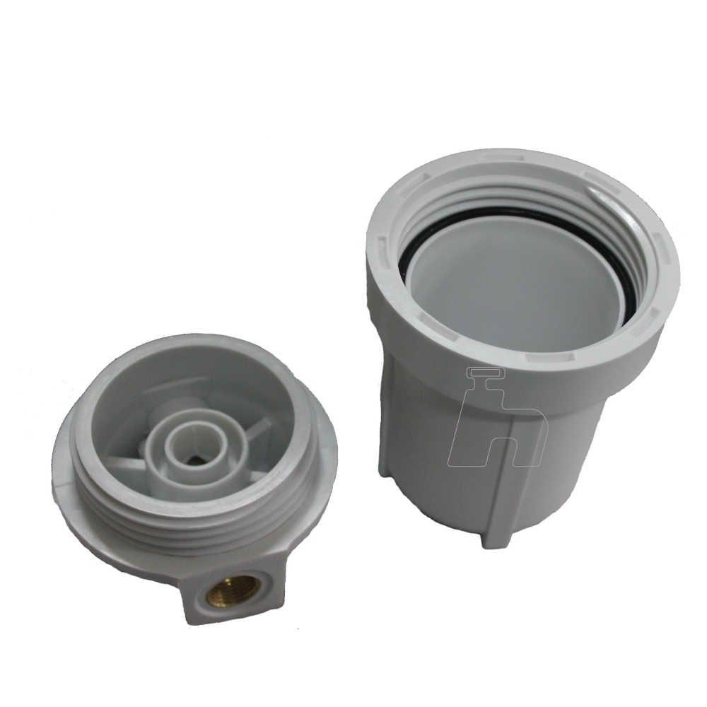 "Carcaça corpo filtro 5""-Planeta água"