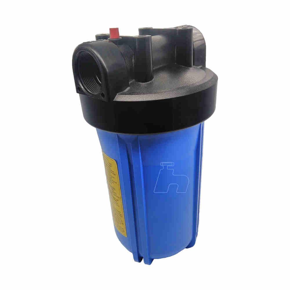 """Carcaça filtro entrada alta vazão 10"""" -Planeta água"""