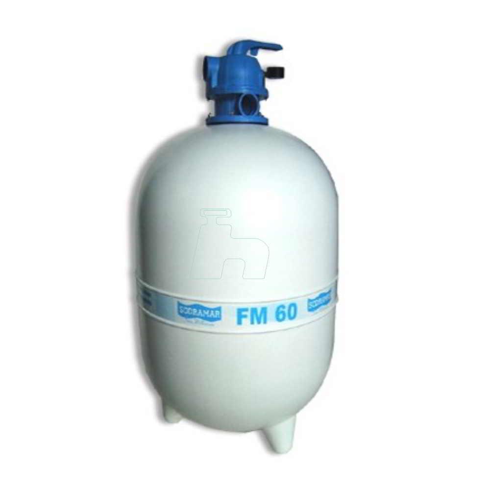 Filtro Piscina Fm 60 (8900 L) -Sodramar