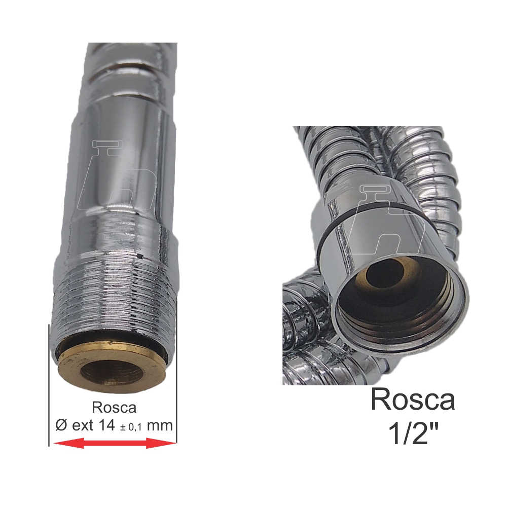 Flexível ligação  torneira Allure-C71 T117 Lorenzetti