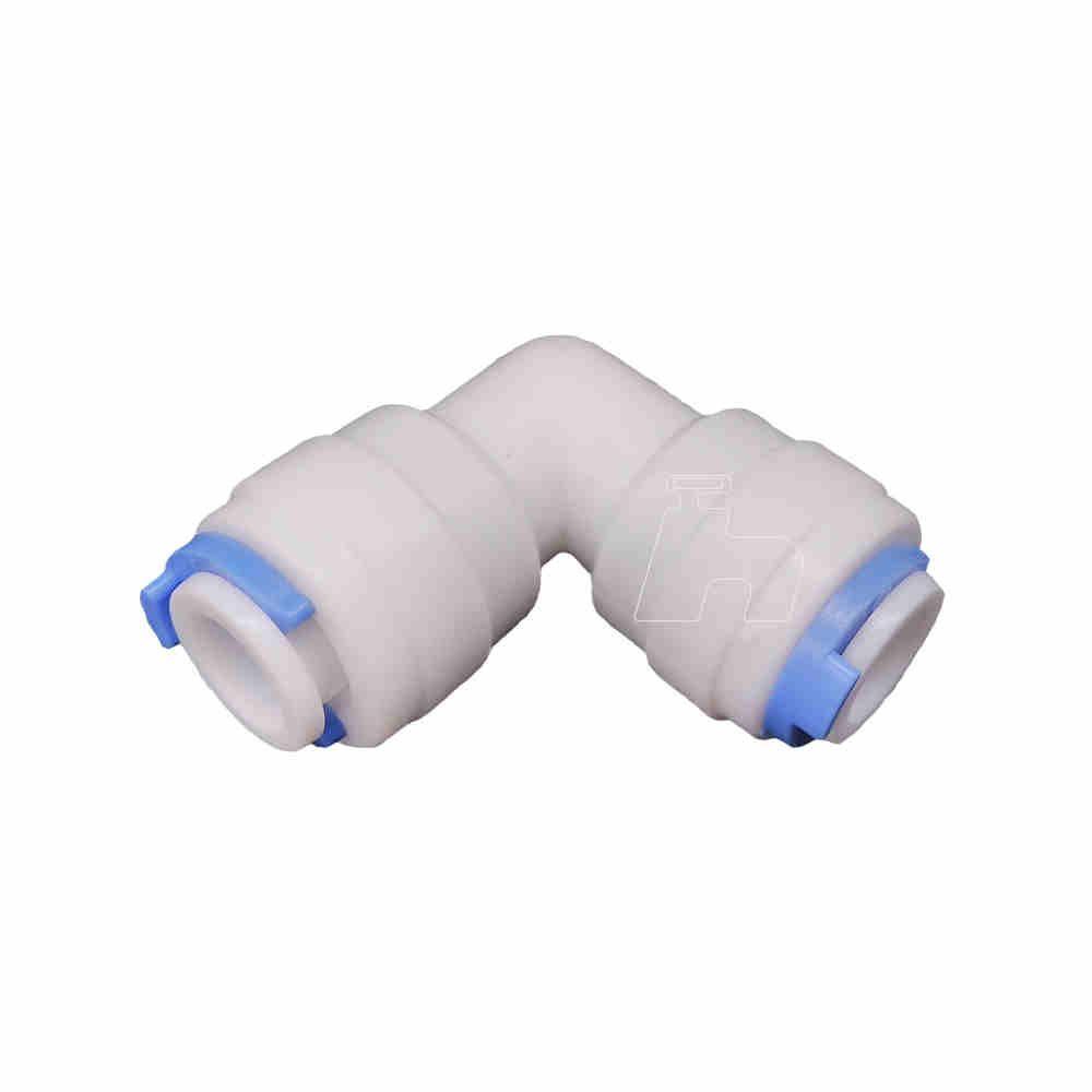 """Joelho conexão engate rápido filtro mangueira 1/4"""" x 1/4"""" 3 peças- Sistem"""