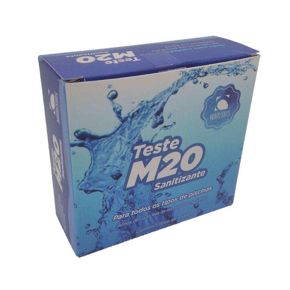 Kit Teste M20 Residual Maresias