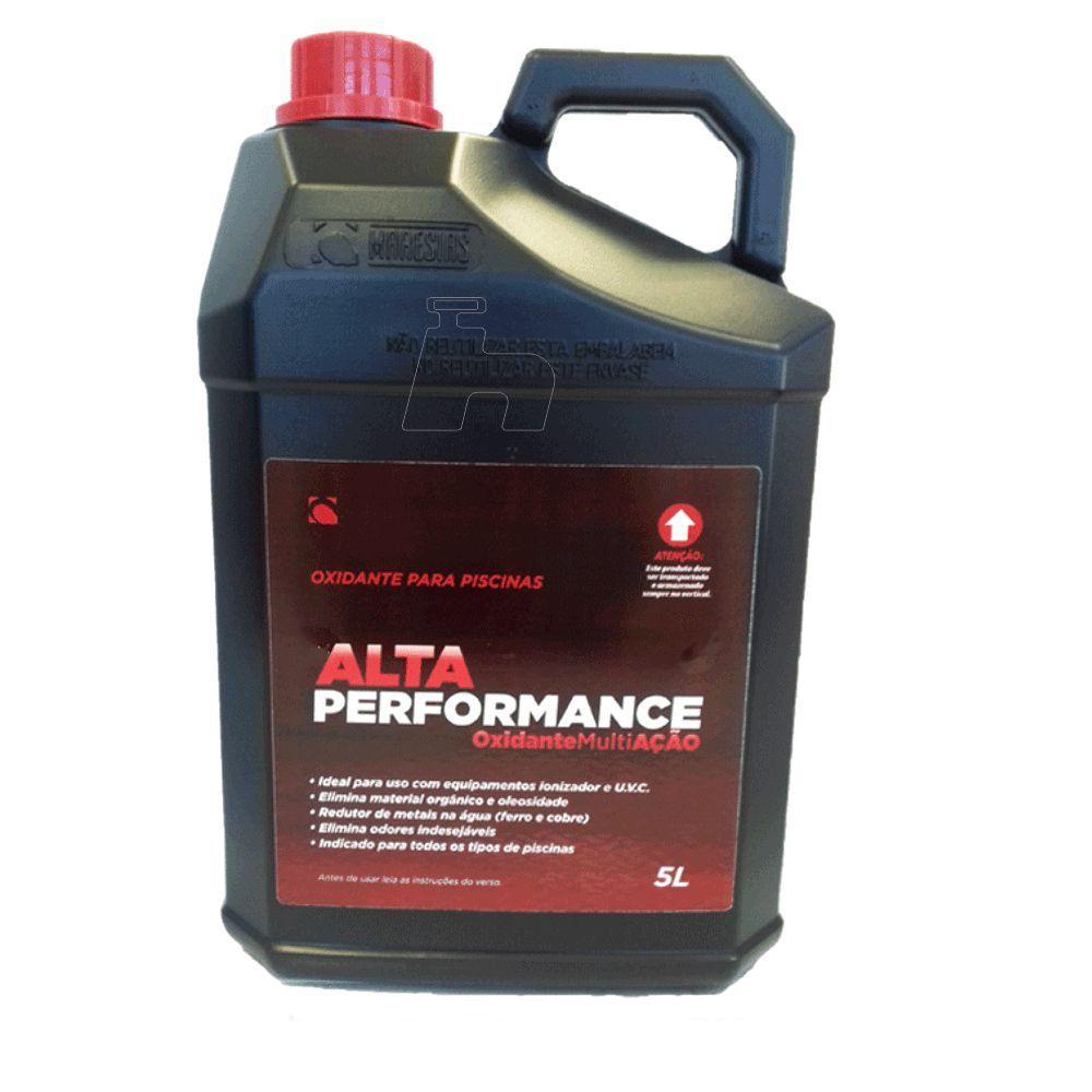 Oxidante concentrado Peróxido de hidrogênio 5L Maresias