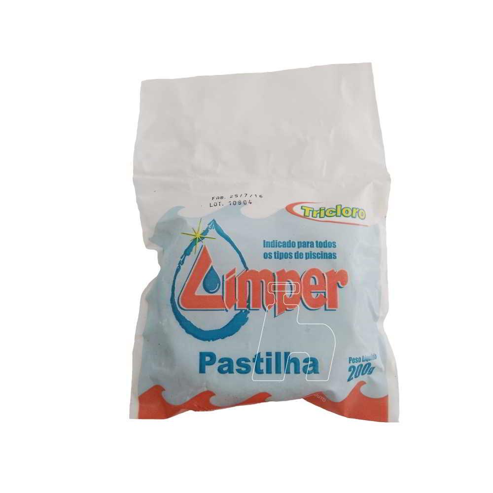 Pastilha Cloro Puro -LImper