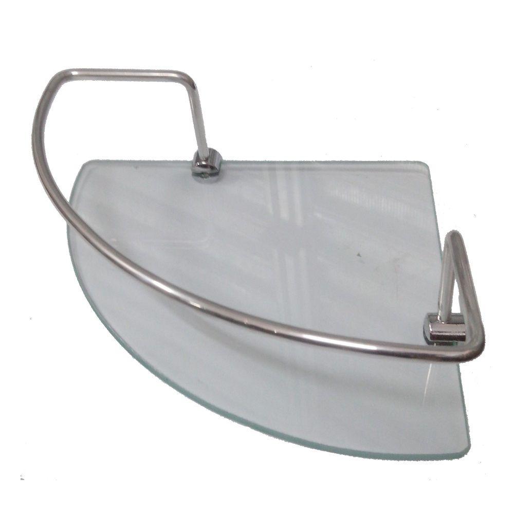 Prateleira Porta Shampoo vidro de Canto 20 cm Hidrolar