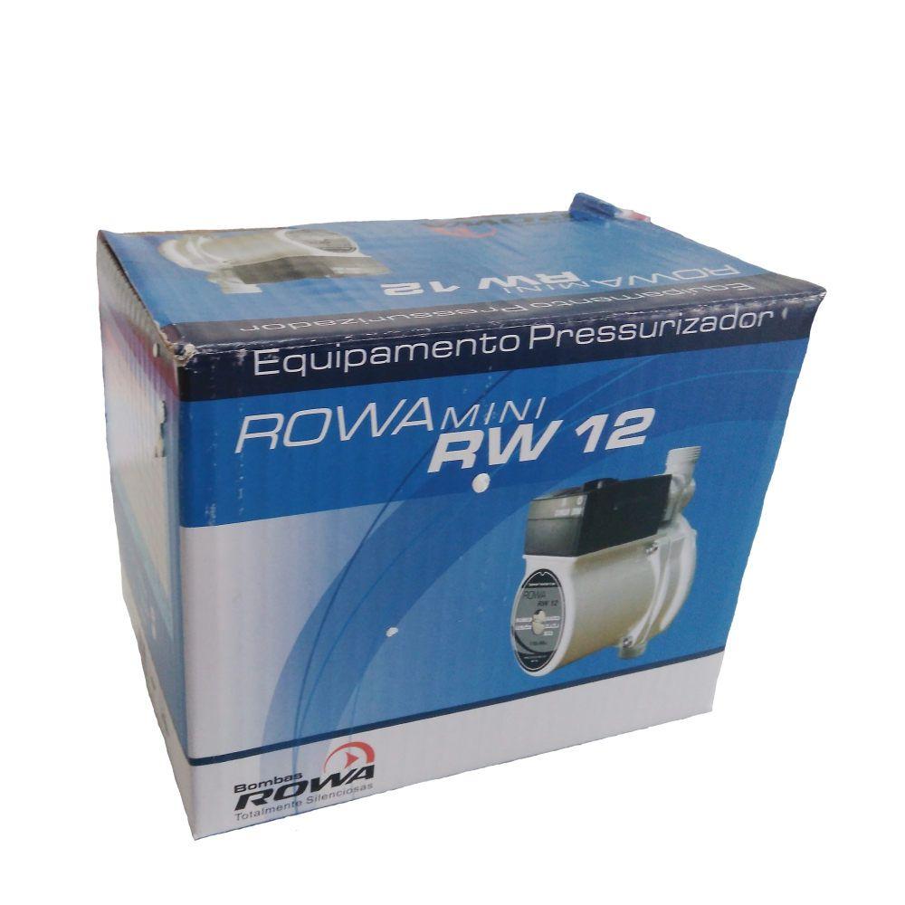 Pressurizador RW12 11,5 mca -220v- Rowa