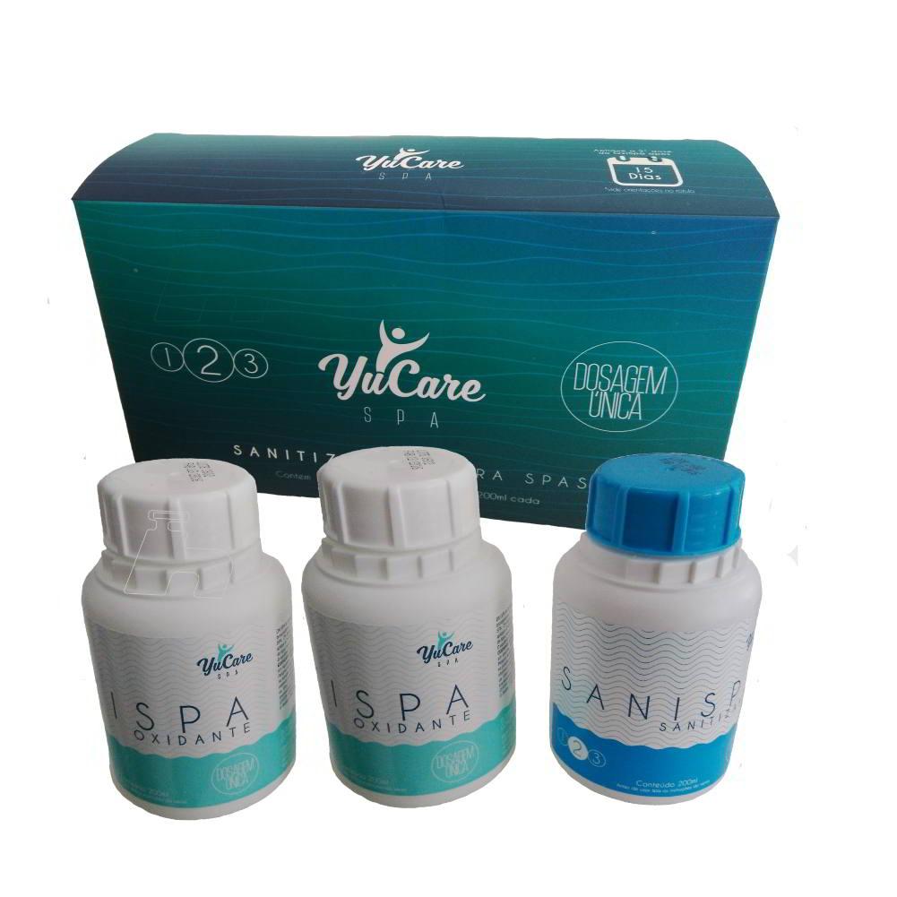 Tratamento sem cloro para SPA Yucare (02 kits) - Maresias