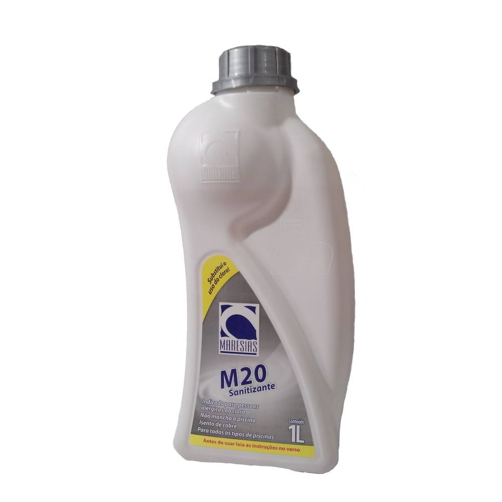 Tratamento Sem Cloro Piscina e SPA Kit M20 + M Plus (02 kits) - Maresias