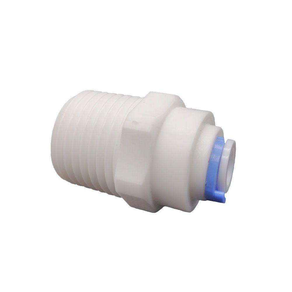 """União conexão engate rápido filtro mangueira (03 peças)1/4"""" x 1/2""""- Sistem"""