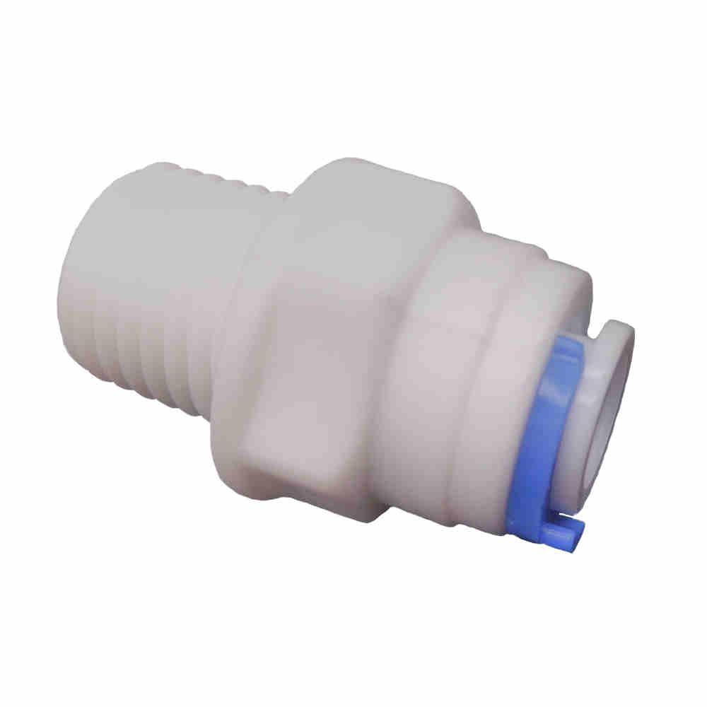 """União conexão engate rápido filtro mangueira 1/4"""" x 1/4"""" ( 03 peças )  Sistem"""